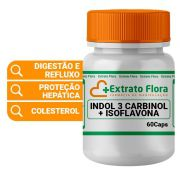 Indol 3 Carbinol + Isoflavona 60 Cápsulas