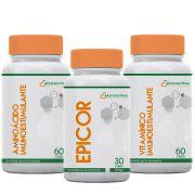 Kit Aumento da Imunidade (Epicor,Aminoácidos e Vitaminas)
