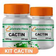 Kit Cacti-nea 500mg 60 Cápsulas (2 frascos com selo de autenticidade)