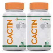 Kit Cactin 500mg 60 Cápsulas (2 frascos com selo de autenticidade)