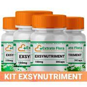 Kit Exsynutriment 150mg 30 Cápsulas (4 und com selo de autenticidade)