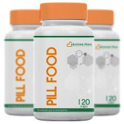 Kit Pill Food 120 Cápsulas  (3 unidades)