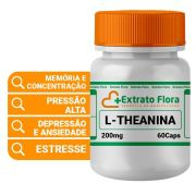 L-theanina 200mg 60 Cápsulas