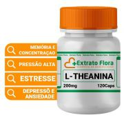 L-theanina 200mg manipulado 120 Cápsulas