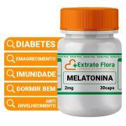 Melatonina 2mg 30 Cápsulas Dormir