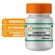 Metilcobalamina (Vitamina B12) com Mais Componentes 60 doses
