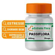 Passiflora 600mg 30 Cápsulas (maracujá)