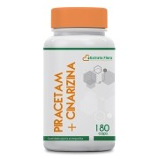 Piracetam 400mg + Cinarizina 25mg 180 Cápsulas