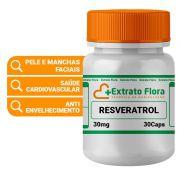 Resveratrol 30mg 30 Cápsulas