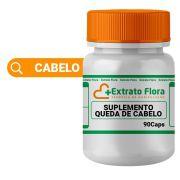 Suplemento Nutricional para queda de cabelo 90 Cápsulas