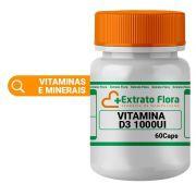 Vitamina D3 1.000UI 60 Cápsulas