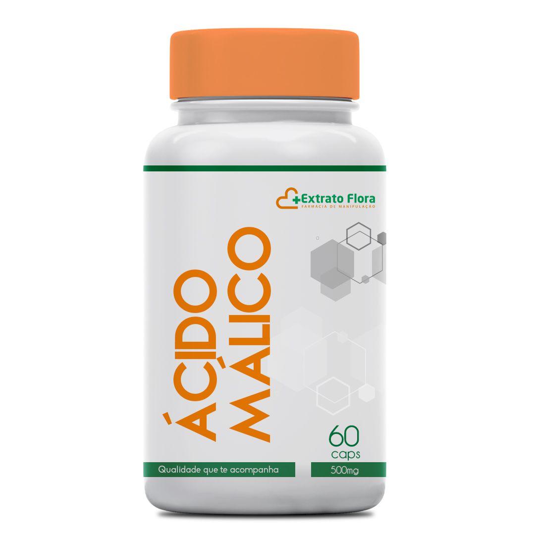 Ácido Málico 500mg 60 Cápsulas