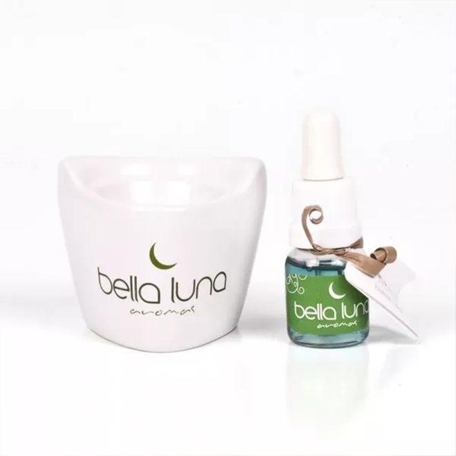 Aromatizador Elétrico Bella Luna Porcelana + Essência brinde (colocar na tomada)