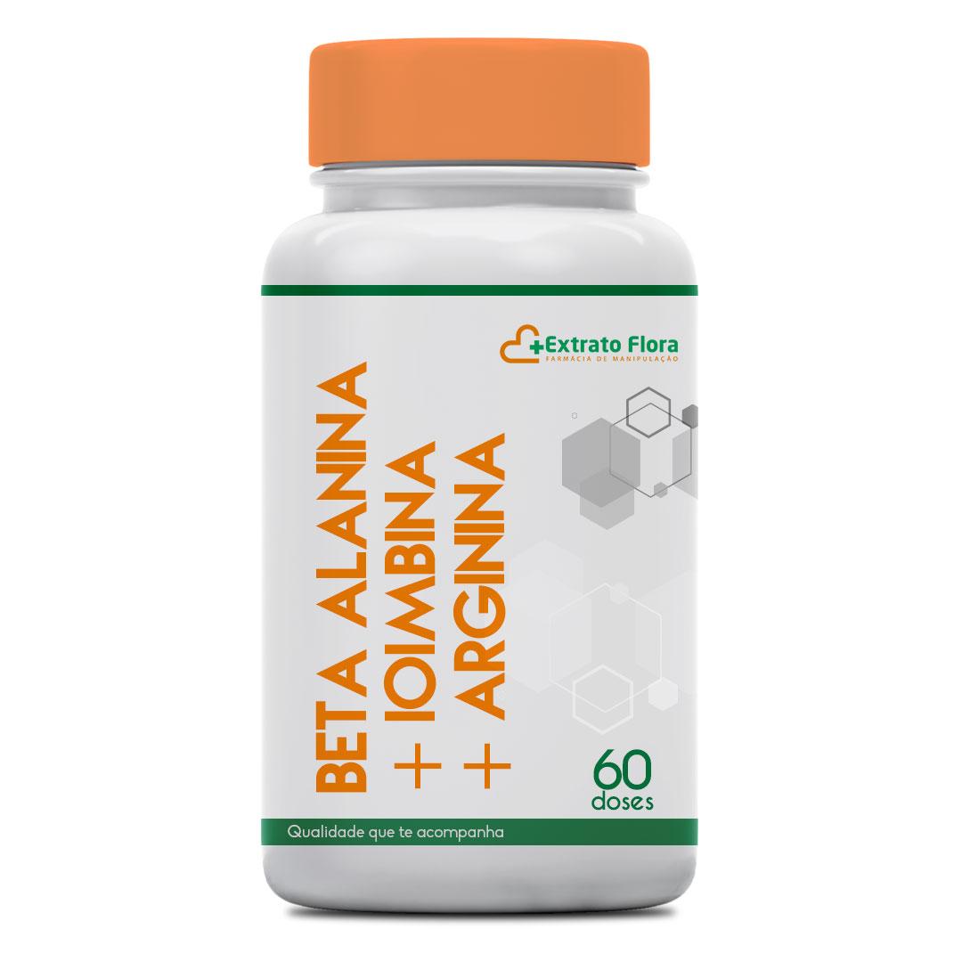 Beta Alanina + Ioimbina + Arginina 60 Doses