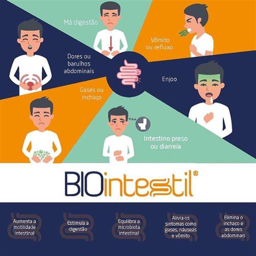 Biointestil 600mg 90 Doses
