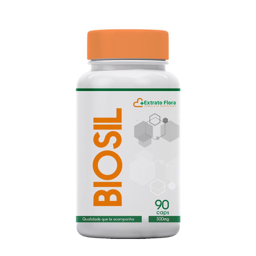 Biosil/Silício Biodisponível 300mg 90 Cápsulas