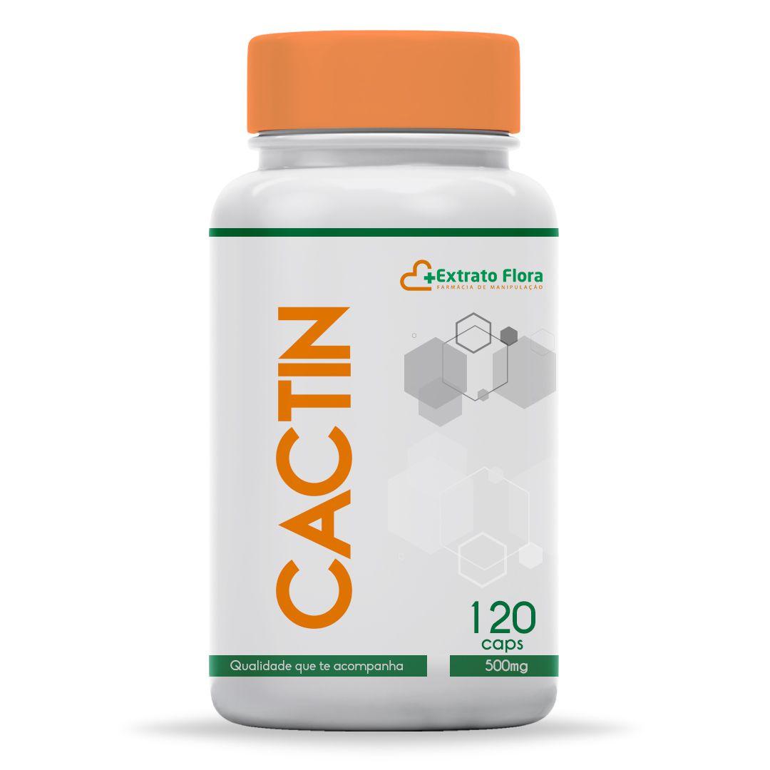 Cactin 500mg 120 Cápsulas (com selo de autenticidade)