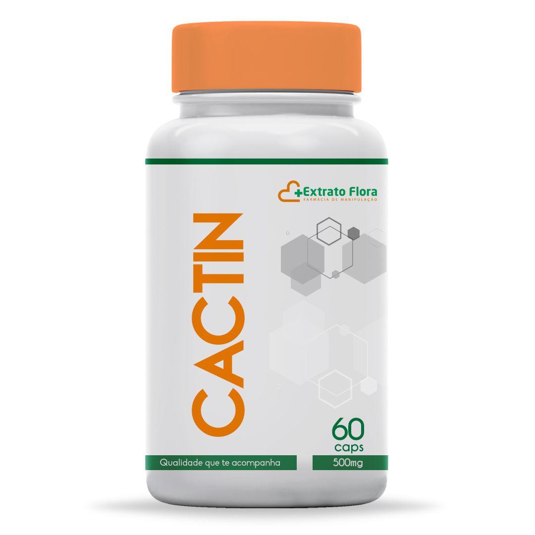 Cactin 500mg 60 Cápsulas (com selo de autenticidade)