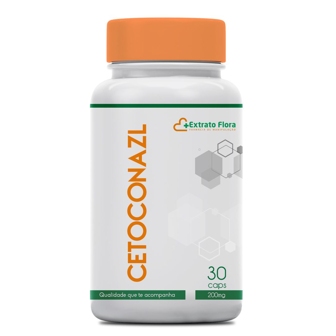 Cetoconazol 200mg 30 Cápsulas