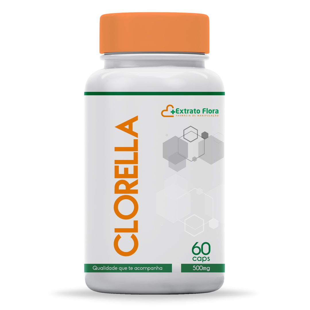 Clorella 500mg 60 Cápsulas