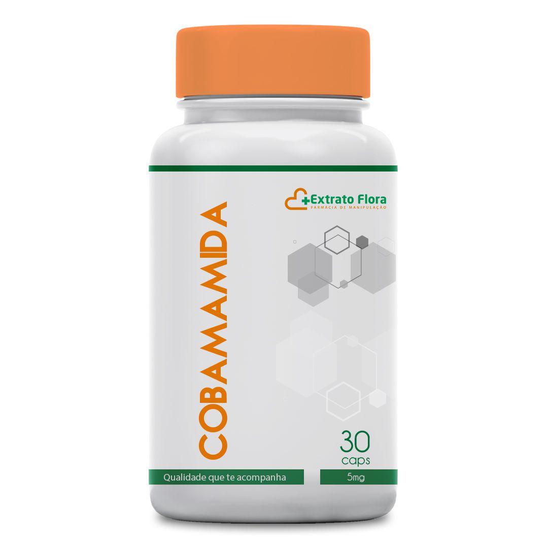 Cobamamida 5mg 30 cápsulas (coenzima B12)