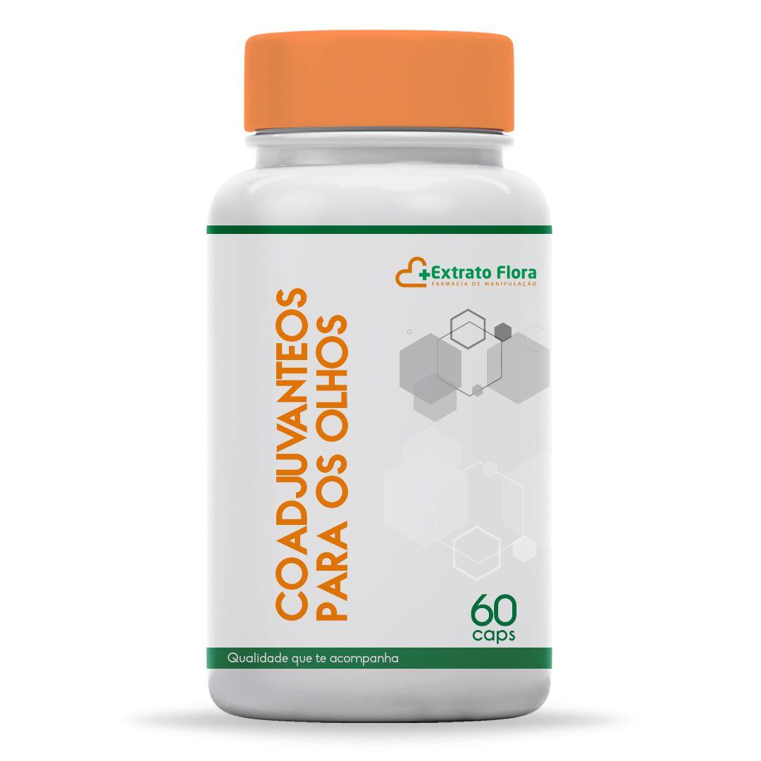 Complexo Antioxidante Oftamoprotetor Coadjuvante para os Olhos 60 Cáps (Para saúde dos Olhos)