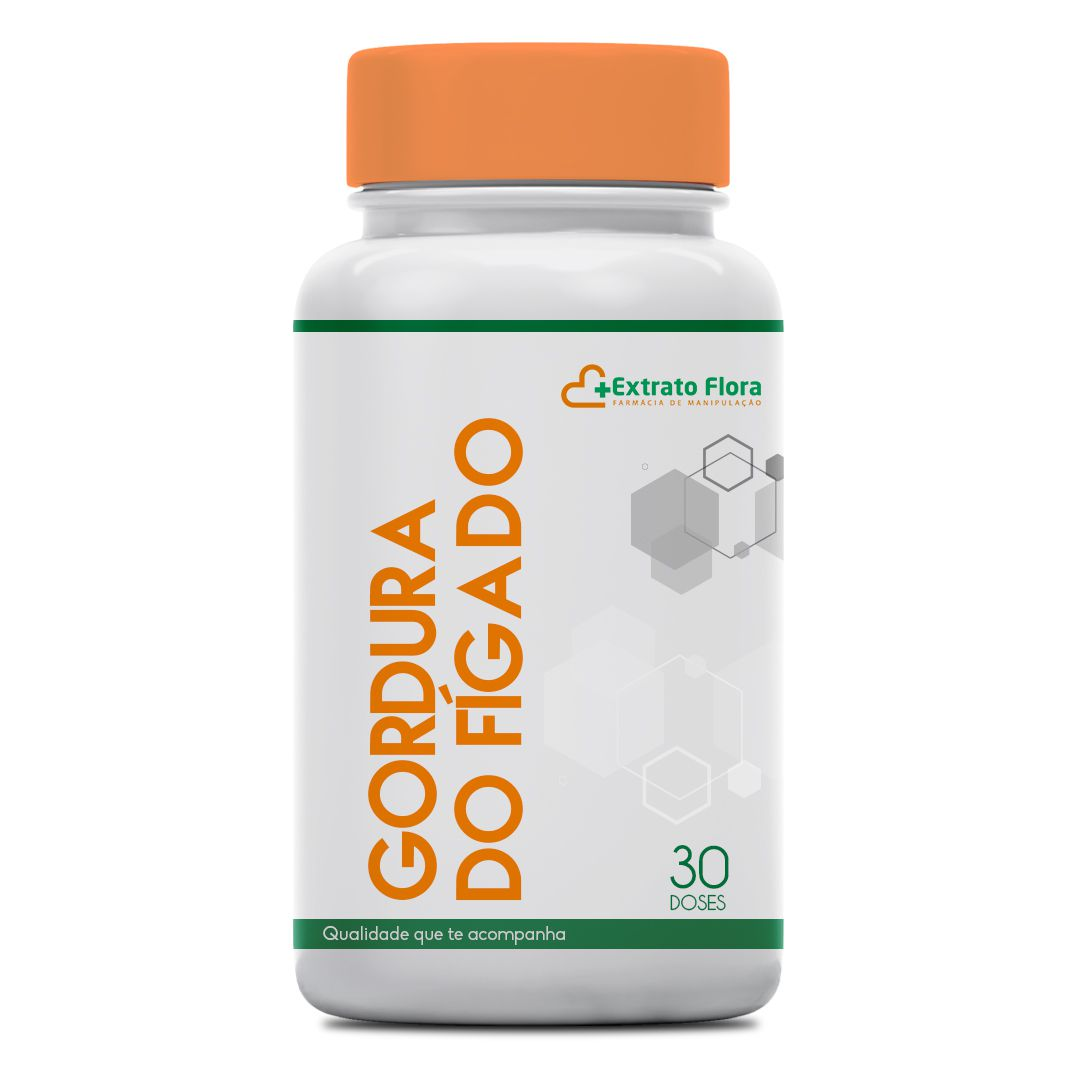 Composto Eliminador de Gordura do Fígado 30 Doses