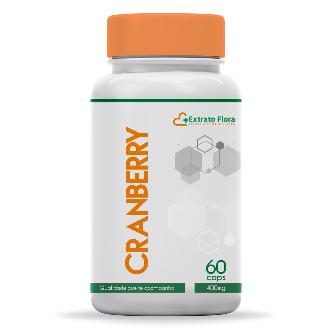 Cranberry 400mg 60 Cápsulas