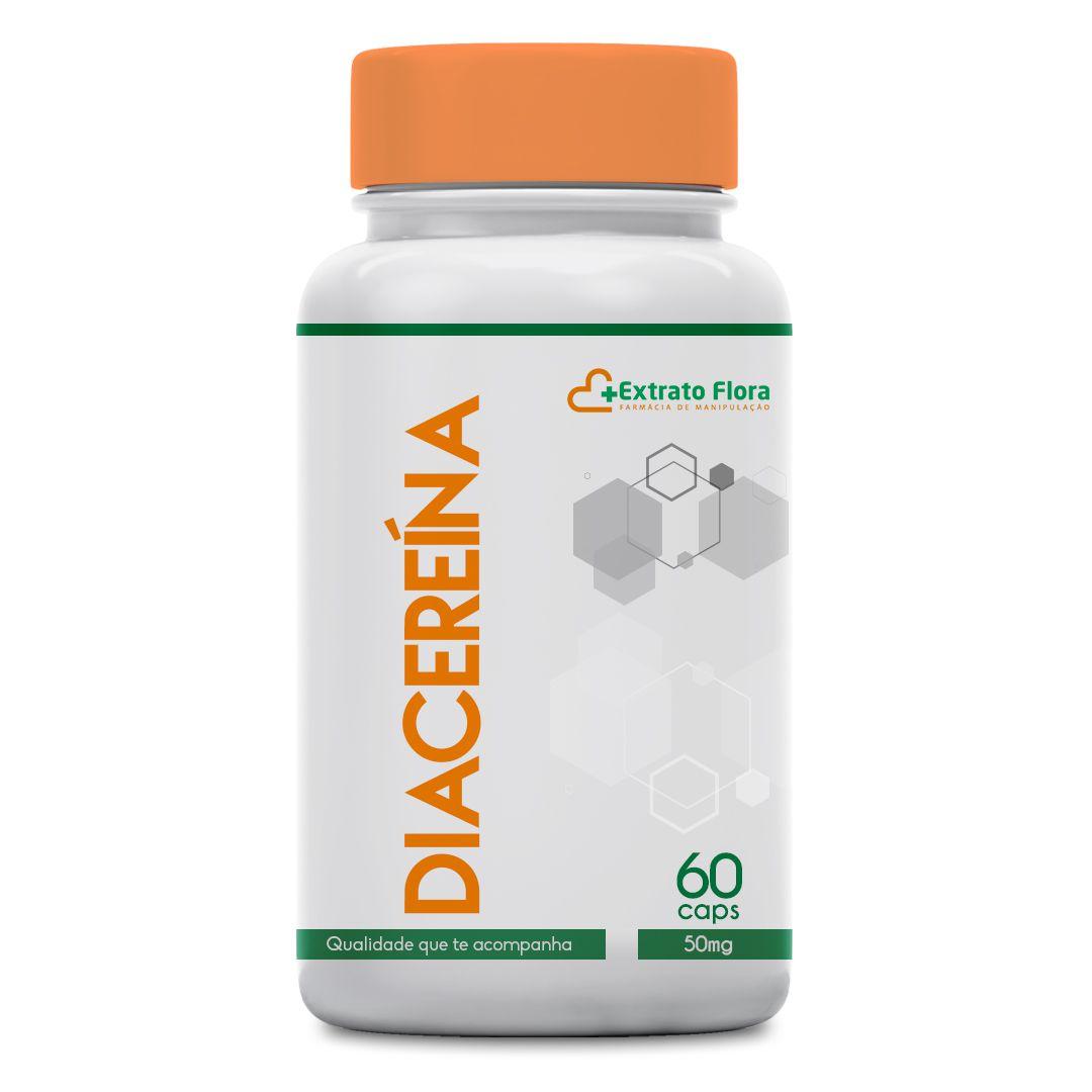 Diacereína 50mg 60 Cápsulas (para artrose)