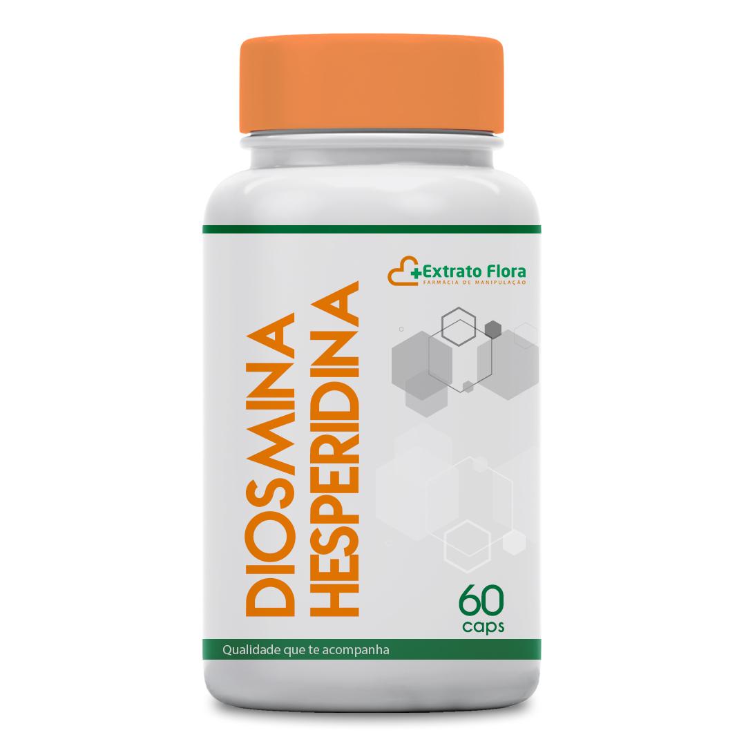 Diosmina 450mg + Hesperidina 50mg 60 Cápsulas