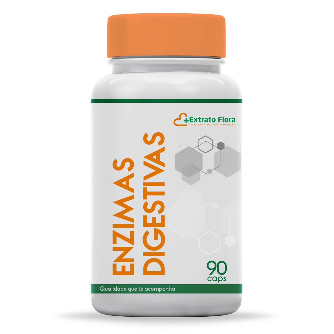Enzimas Digestivas 90 Cápsulas