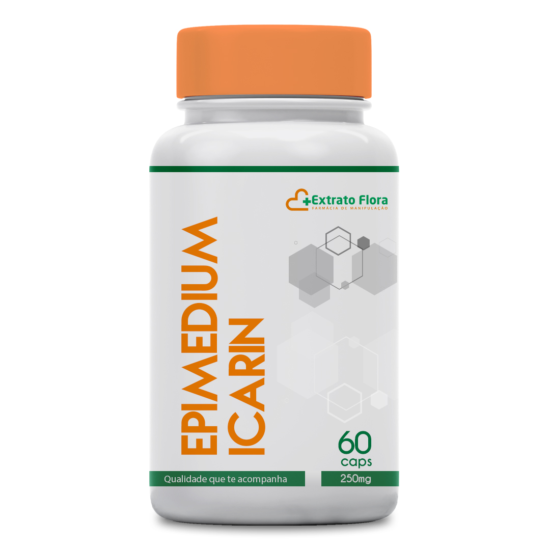 Epimedium Icarin 250mg 60 Cápsulas