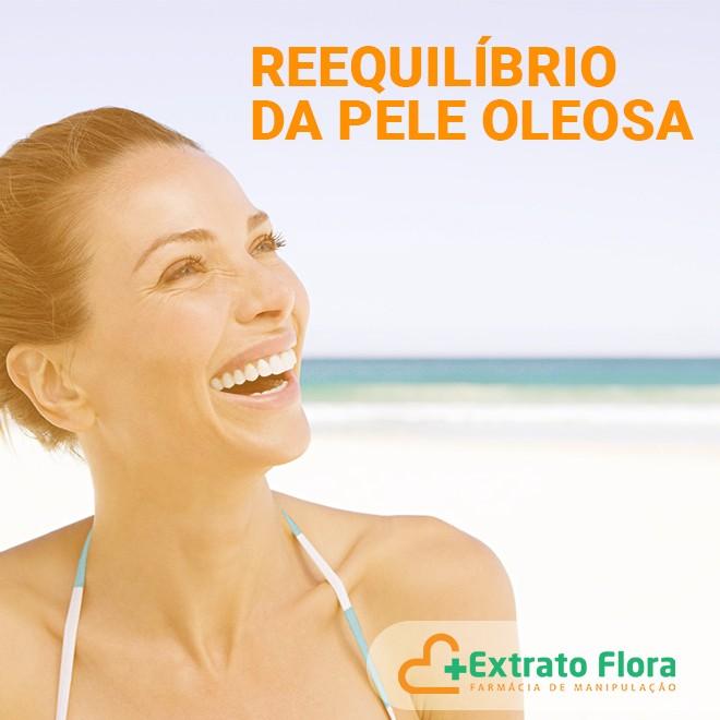 Filtro Solar Facial p/ Pele Oleosa 100g 30FPS