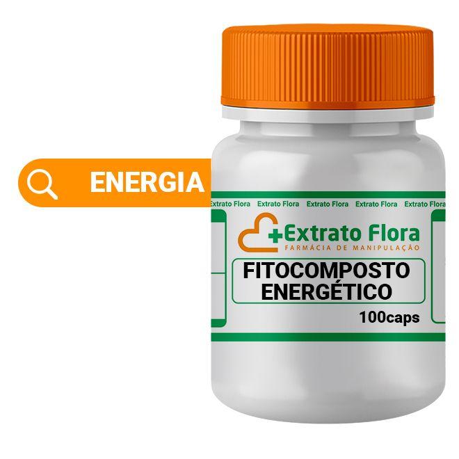 Fitocomposto Energético 100 Cápsulas