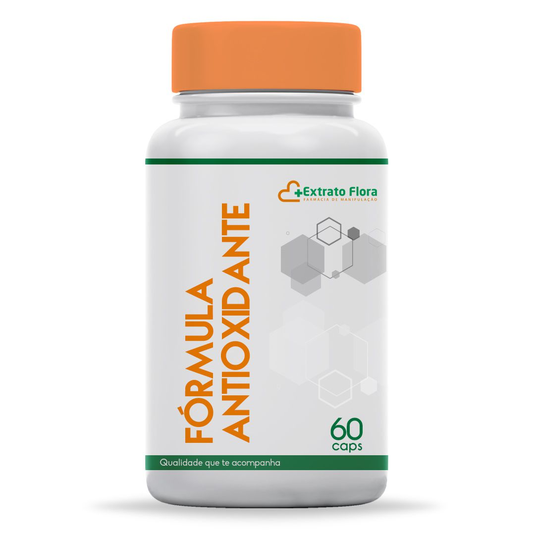 Fórmula Antioxidante 60 Cápsulas (Coenzima Q10 +  Selenio + Vit C  + Vit E)