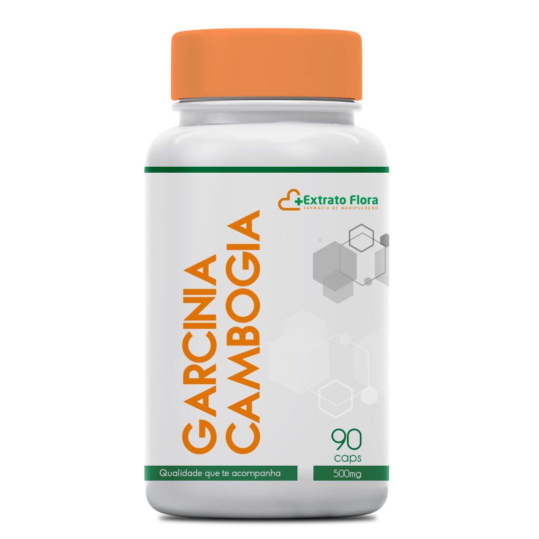 Garcinia Cambogia 500mg 90 Cápsulas