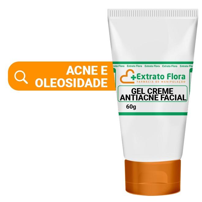 Gel Creme Antiacne Facial 60g (Azeloglicina )