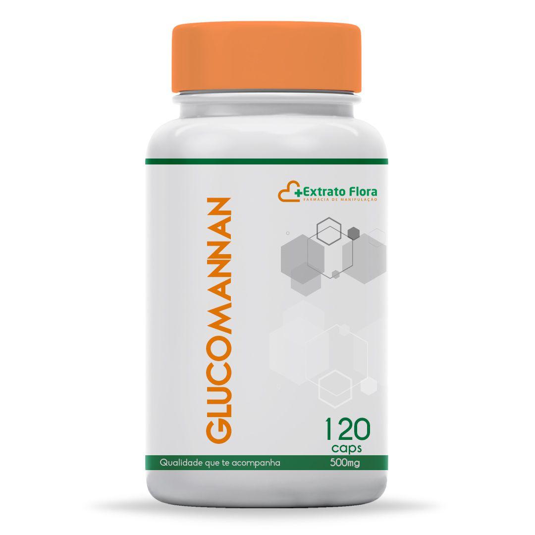 Glucomannan 500mg 120 Cápsulas