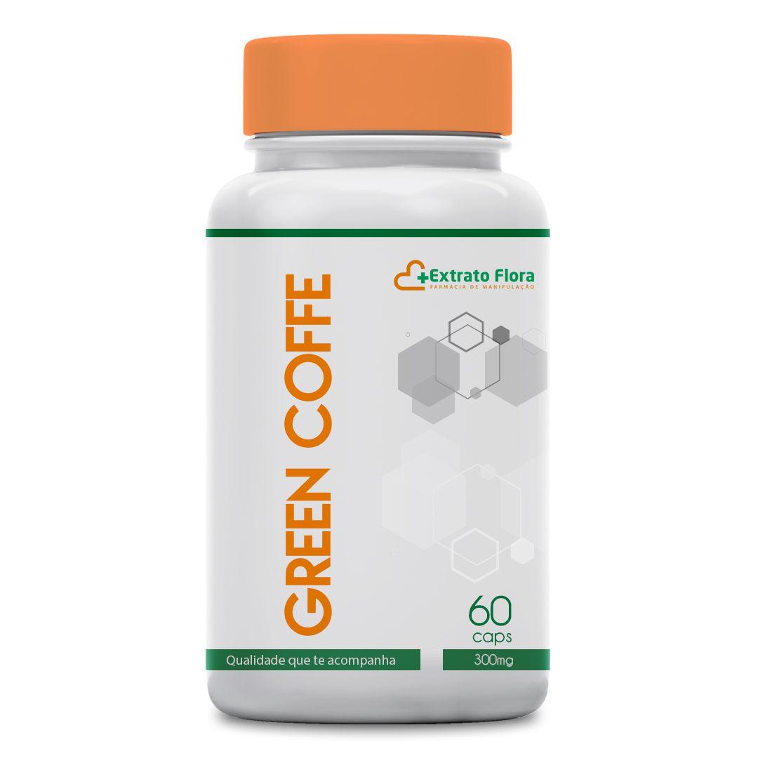 Green Coffe 300mg 60 Cápsulas ( Café Verde)