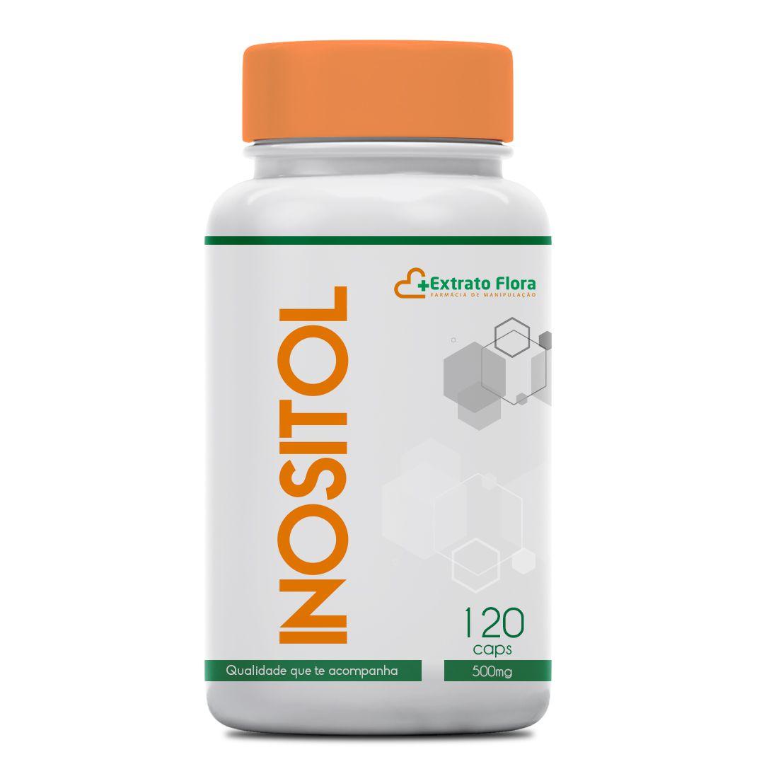 Inositol 500mg 120 cápsulas