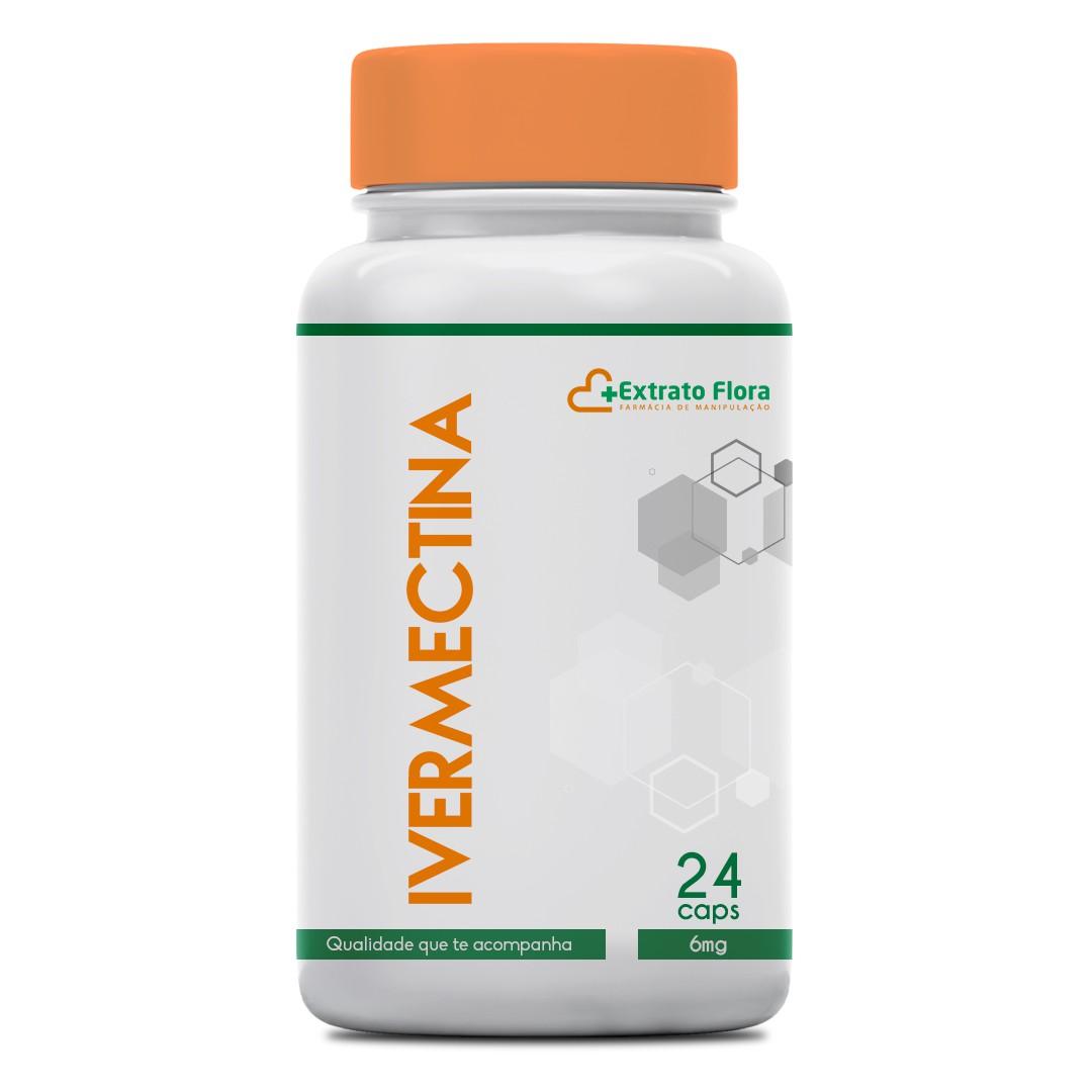 Ivermectina 6mg 24 Cápsulas