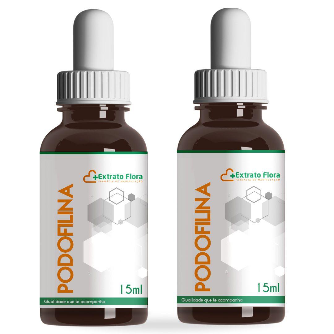 Kit Podofilina 25% 15ml ( 2 unidades)