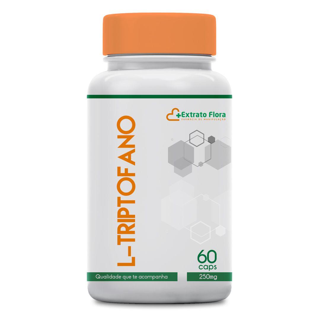 L - Triptofano 250mg 60 Cápsulas