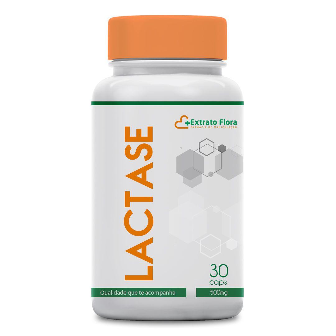 Lactase 500mg 30 Cápsulas (intolerância a lactose)
