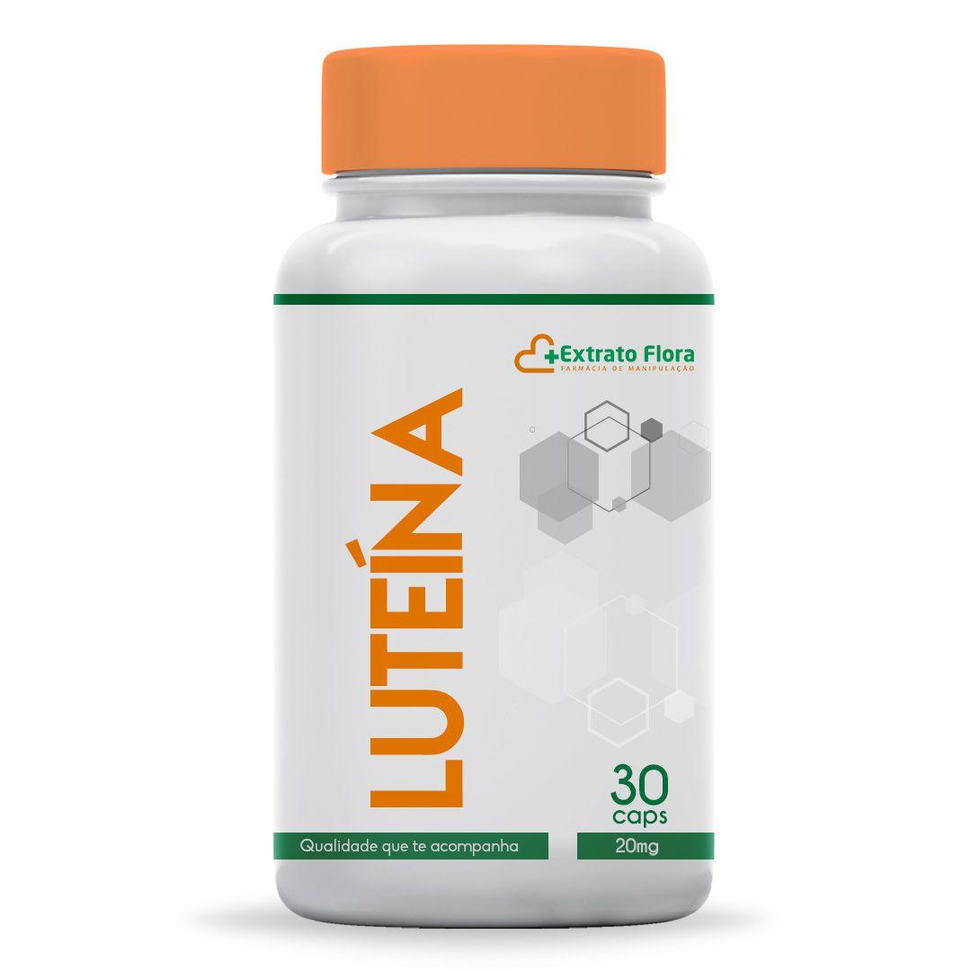 Luteína 20mg 30 Cápsulas