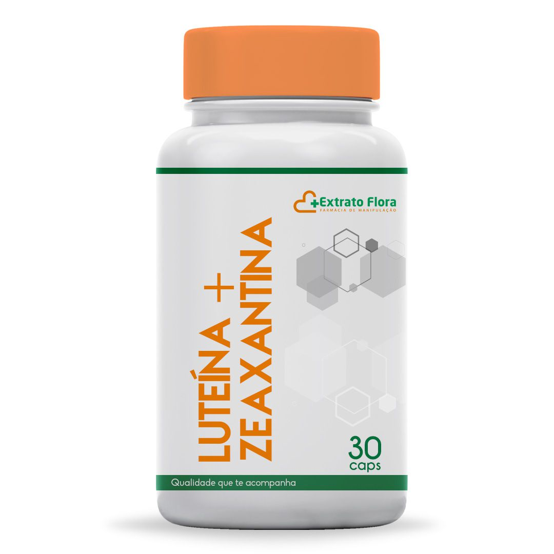 Luteína + Zeaxantina 30 Cápsulas