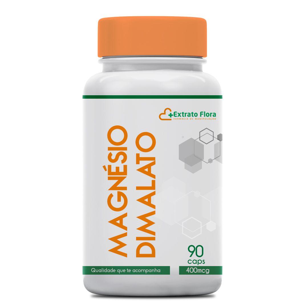 Magnésio Dimalato 400mg 90 Cápsulas