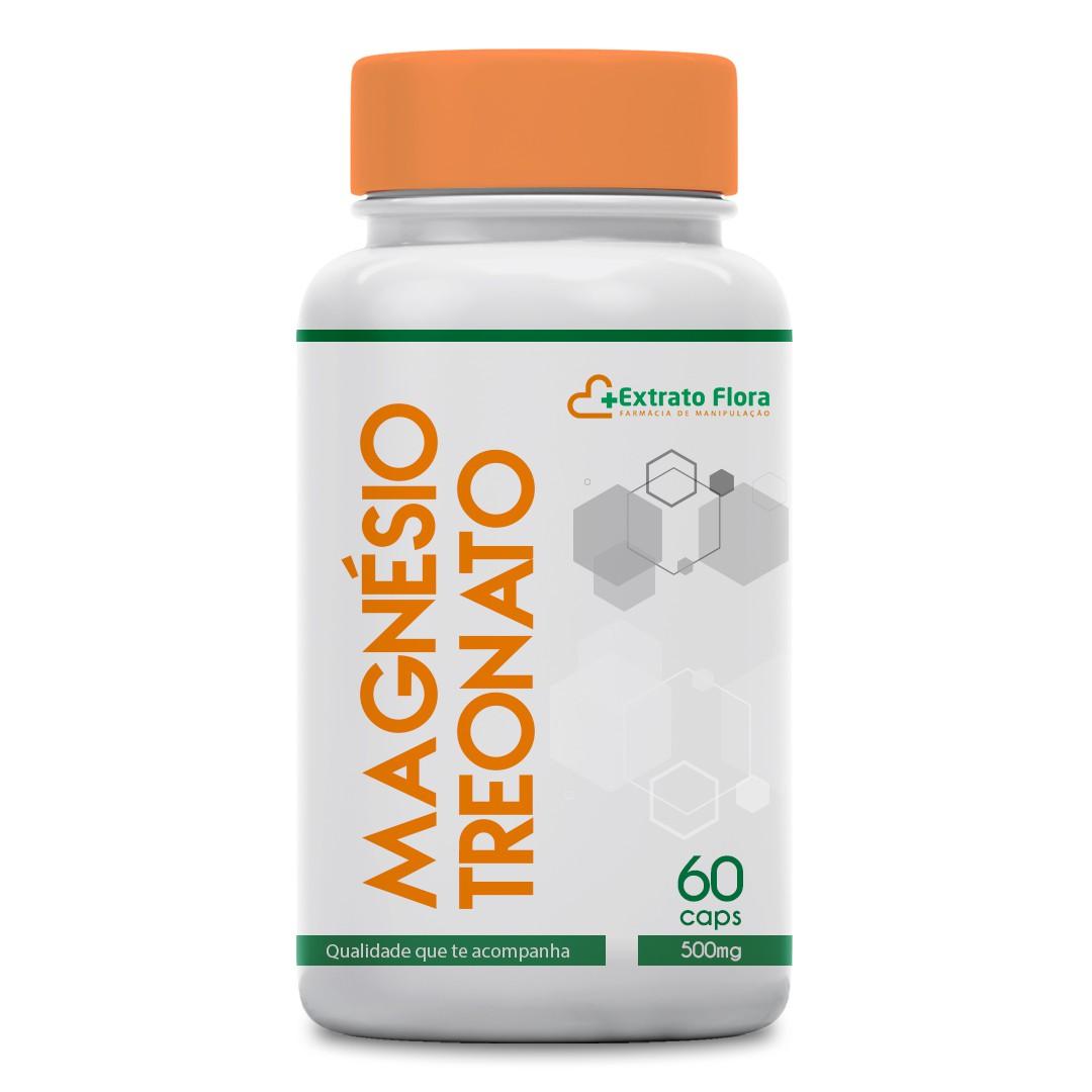 Magnésio Treonato 500mg 60 cápsulas