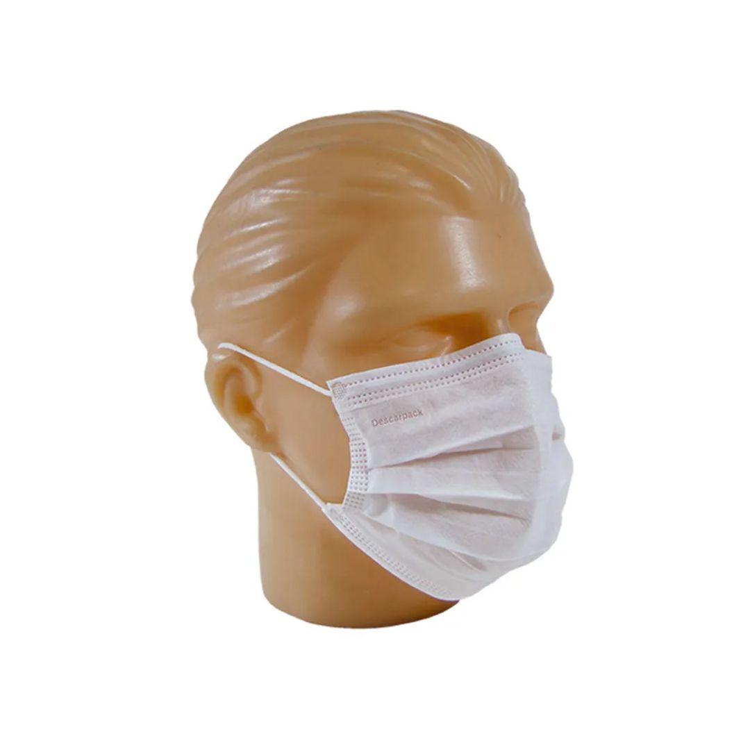 Máscara Cirúrgica Descartável  (50UND)