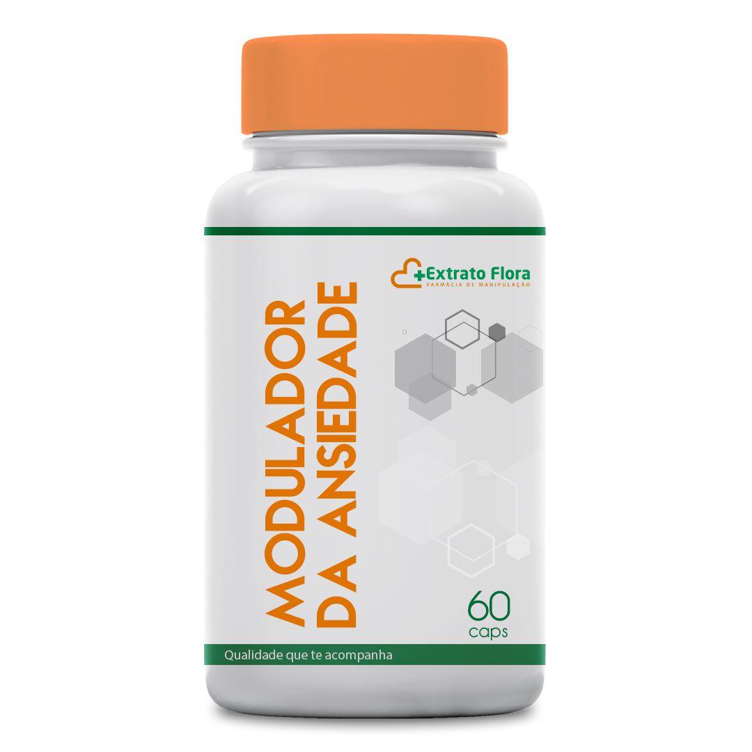 Modulador da Ansiedade 60 Cápsulas (Relora + L-theanina)